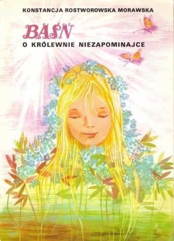 Okładka książki Baśń o królewnie Niezapominajce