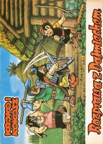 Okładka książki Kajko i Kokosz. Rozprawa z Dajmiechem