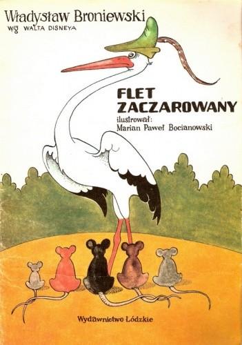 Okładka książki Flet zaczarowany