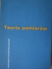 Okładka książki Teoria pomiarów