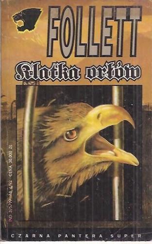 Okładka książki Klatka Orłów