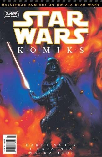 Okładka książki Star Wars Komiks 1/2008