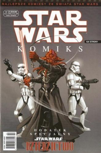 Okładka książki Star Wars Komiks 2/2008