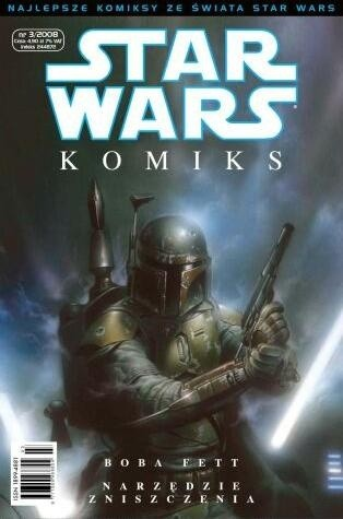 Okładka książki Star Wars Komiks 3/2008