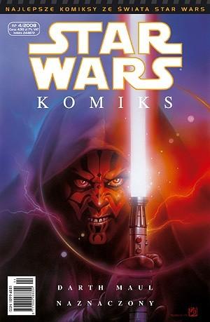 Okładka książki Star Wars Komiks 4/2008