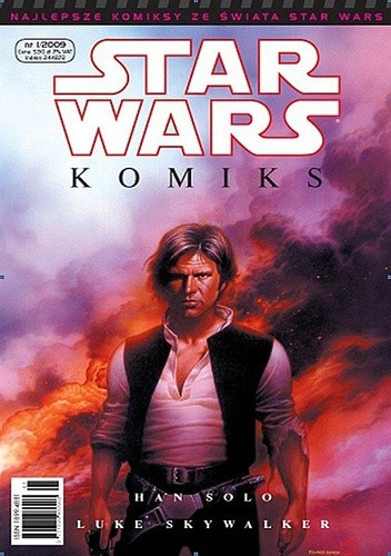 Okładka książki Star Wars Komiks 1/2009