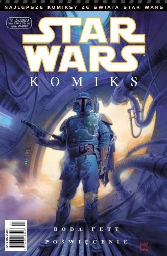 Okładka książki Star Wars Komiks 2/2009
