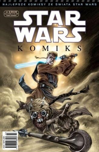 Okładka książki Star Wars Komiks 3/2009