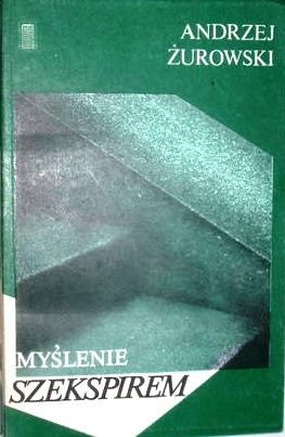 Okładka książki Myślenie Szekspirem