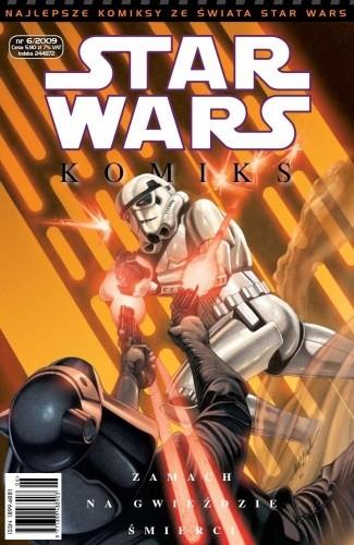 Okładka książki Star Wars Komiks 6/2009