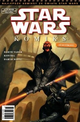 Okładka książki Star Wars Komiks 10/2009