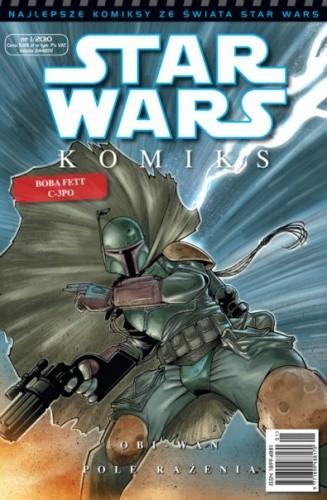 Okładka książki Star Wars Komiks 1/2010