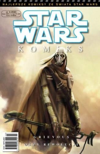 Okładka książki Star Wars Komiks 3/2010