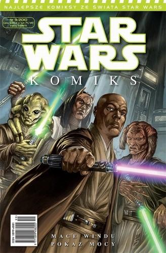 Okładka książki Star Wars Komiks 9/2010