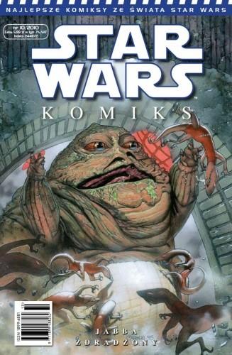 Okładka książki Star Wars Komiks 10/2010