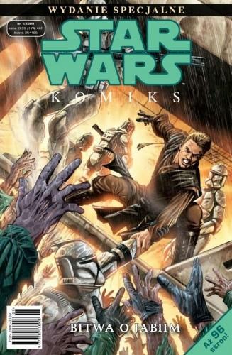 Okładka książki Star Wars Komiks. Wydanie Specjalne 1/2009