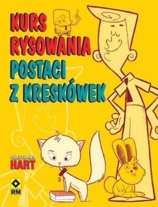 Okładka książki Kurs rysowania postaci z kreskówek
