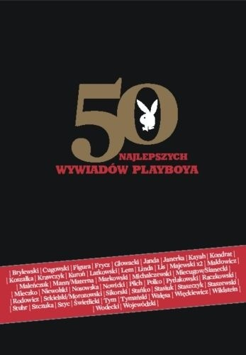 Okładka książki 50 najlepszych wywiadów PLAYBOYA