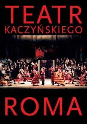 Okładka książki Teatr Kaczyńskiego ROMA