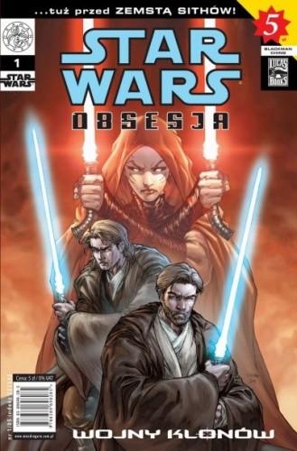 Okładka książki Star Wars Obsesja #1