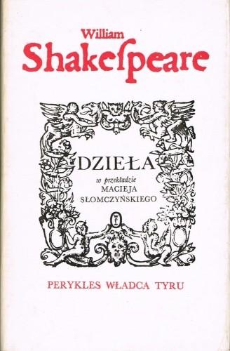 Okładka książki Perykles władca Tyru