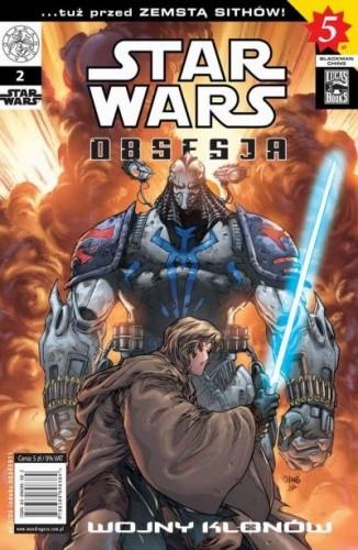 Okładka książki Star Wars Obsesja #2