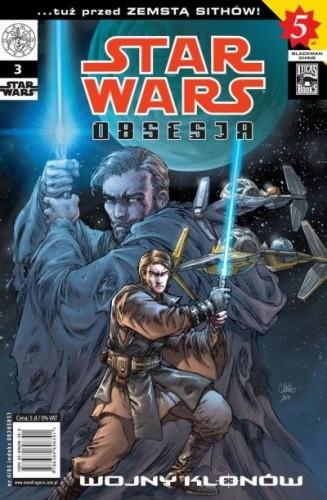 Okładka książki Star Wars Obsesja #3