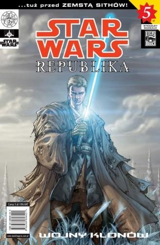 Okładka książki Star Wars Republika