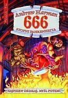 Okładka książki 666 stopni Fahrenheita