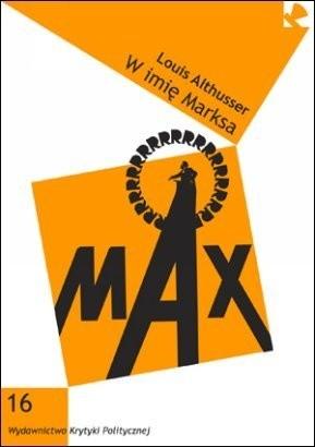 Okładka książki W imię Marksa