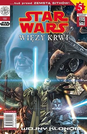 Okładka książki Star Wars Więzy Krwi