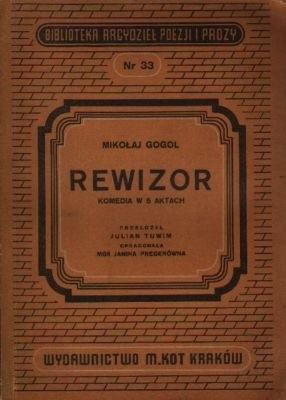 Okładka książki Rewizor