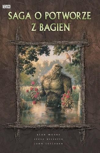 Okładka książki Saga o potworze z bagien