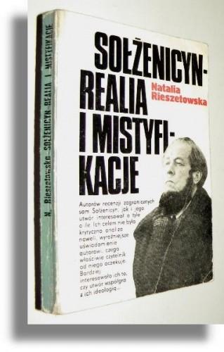 Okładka książki Sołżenicyn: realia i mistyfikacje