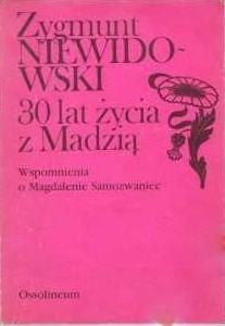 Okładka książki 3o lat życia z Madzią