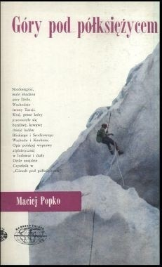 Okładka książki Góry pod półksiężycem