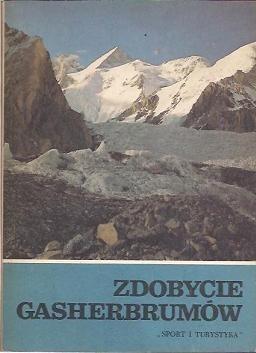 Okładka książki Zdobycie Gasherbrumów