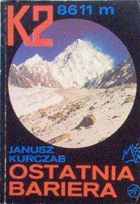 Okładka książki K2 8611 m. Ostatnia bariera