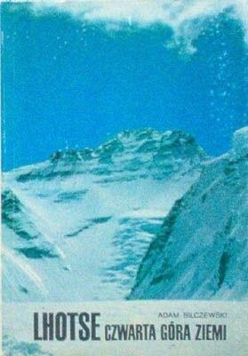 Okładka książki Lhotse czwarta góra ziemi