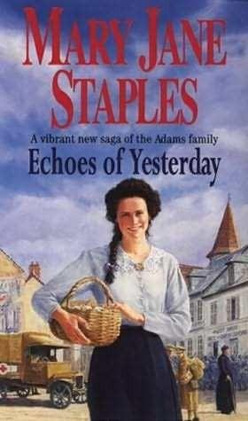 Okładka książki Echoes of  Yesterday