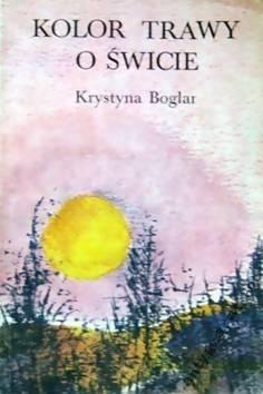 Okładka książki Kolor trawy o świcie