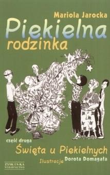 Okładka książki Piekielna rodzinka: Święta u Piekielnych