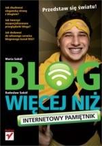 Okładka książki Blog więcej niż internetowy pamiętnik
