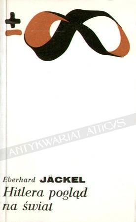 Okładka książki Hitlera pogląd na świat