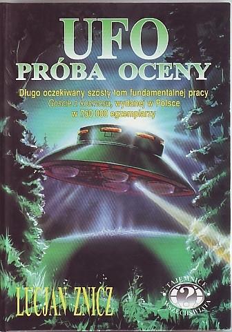 Okładka książki UFO próba oceny