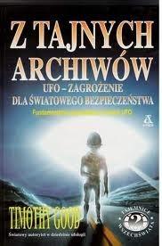 Okładka książki Z tajnych archiwów : UFO - zagrożenie dla światowego bezpieczeństwa