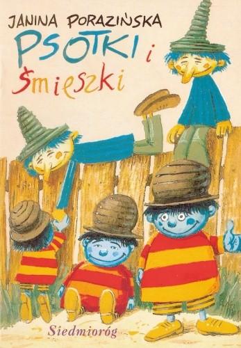 Okładka książki Psotki i śmieszki