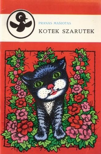 Okładka książki Kotek Szarutek