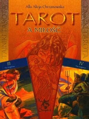 Okładka książki Tarot a miłość