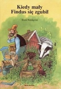 Okładka książki Kiedy mały Findus się zgubił